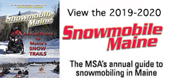 2019 MSA snowmobiling guide booklet