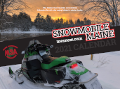 Order form for 2020 Snowmobile Maine Calendar